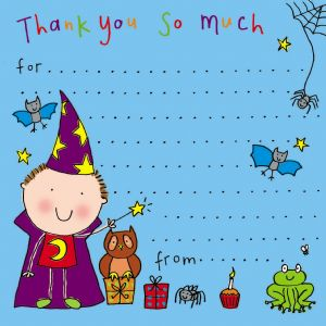 Wizard Thank You Note